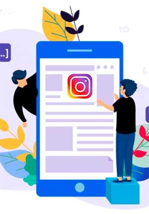 Instagran red social en el PACK 3 INTERNET DE imagen3web