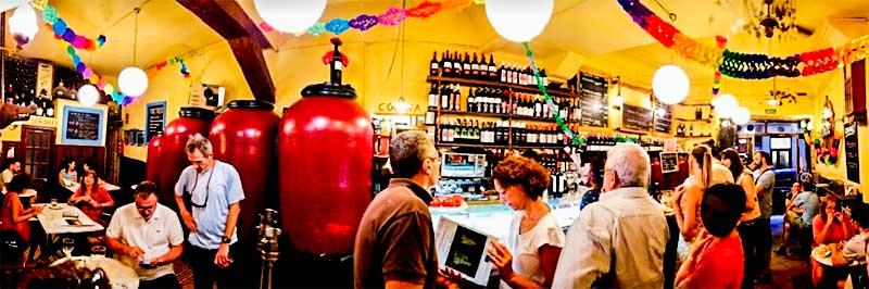 almacén de vinos casa gerardo en madrid centro
