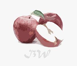 logo de imagen3web es la imagen de una manzana